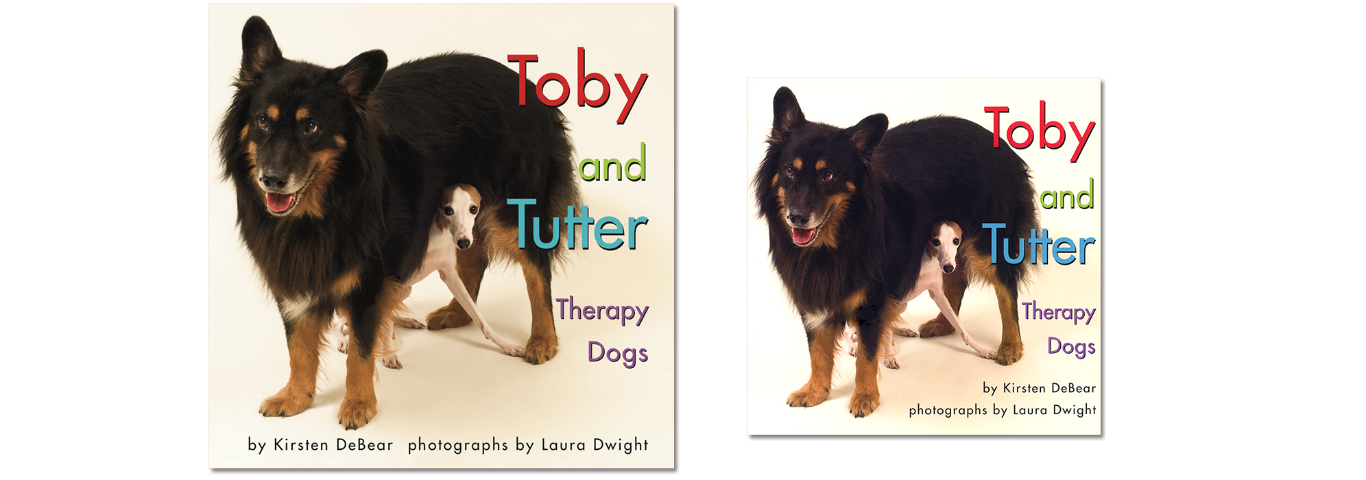 Buy the Toby and Tutter book - in hardcover or paperback